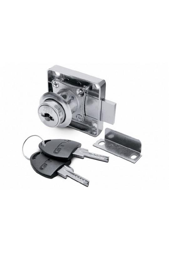 Замок мебельный №138 (компьютерный ключ) GTV