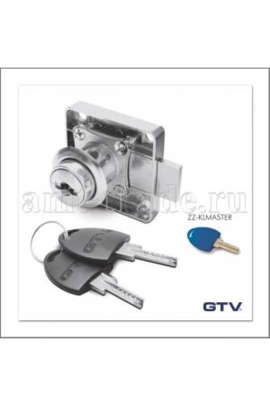 GTV Замок квадратный мастер ключ 138